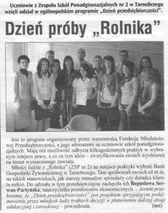 Dzien proby Rolnika - Tygodnik Nadwislanski 2011-04-07