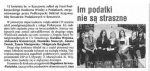 Im podatki nie sa straszne - Tygodnik Nadwislansk 2011-04-21i